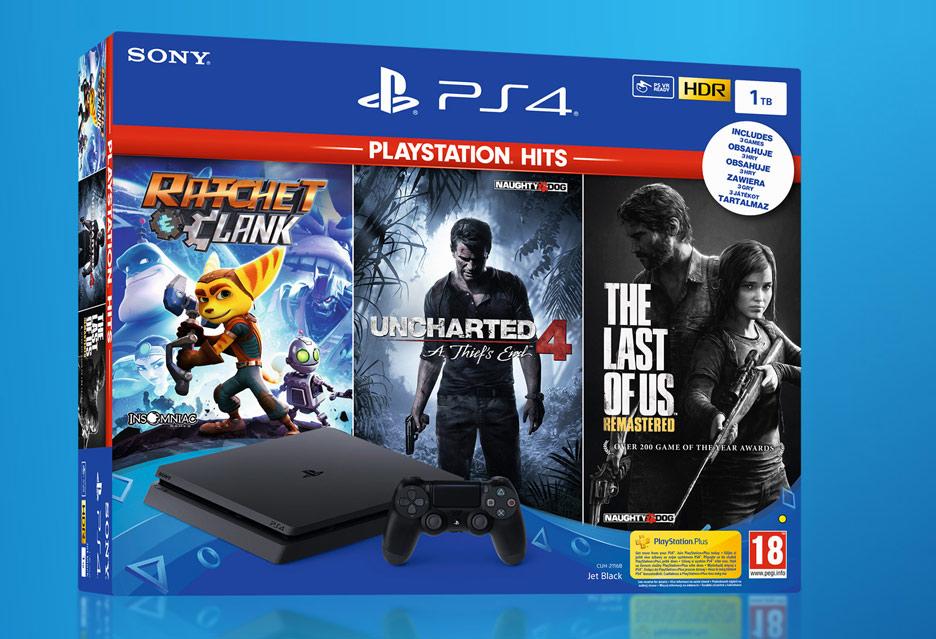 PlayStation 4 w dobrej cenie z trzema grami dla całej rodziny | zdjęcie 1