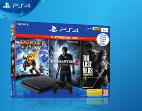 PlayStation 4 w dobrej cenie z trzema grami dla całej rodziny