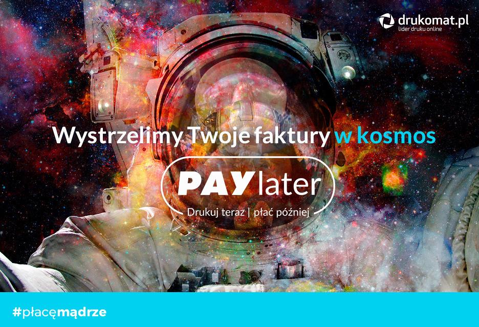 PAYlater w Drukomat.pl - drukowanie z opóźnioną płatnością