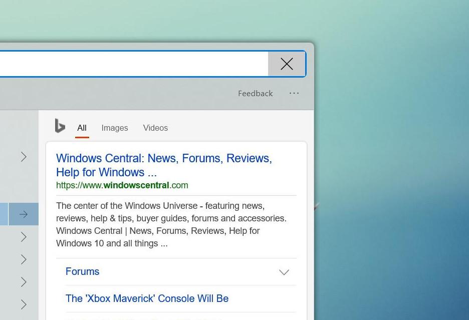 Windows 10 - zaokrąglone rogi w drodze