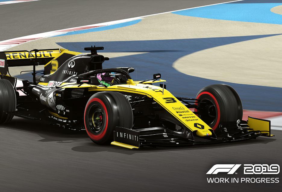 Mniej więcej tak wygląda gra F1 2019 - gameplay