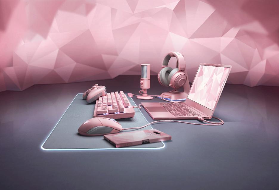 Razer Quartz - różowy sprzęt do gier w promocji