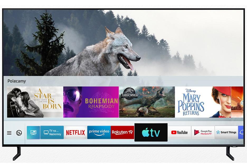 Telewizory Samsung z usługami Apple