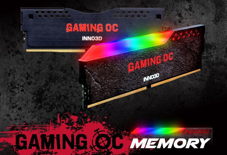 Inno3D Gaming OC - pamięci z podświetleniem RGB