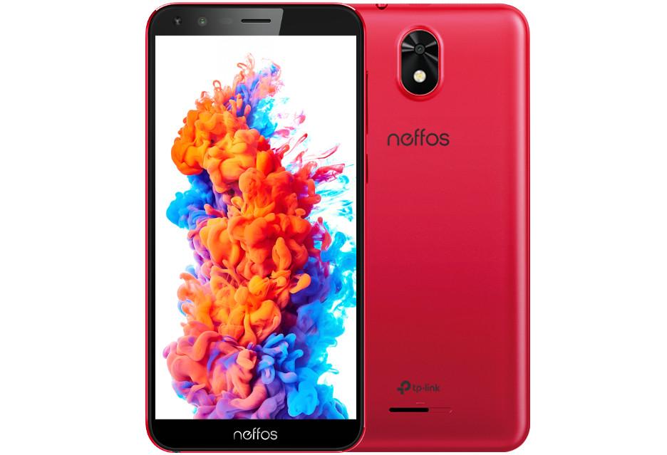 Nowy, czerwony Neffos C5 Plus z Androidem Go