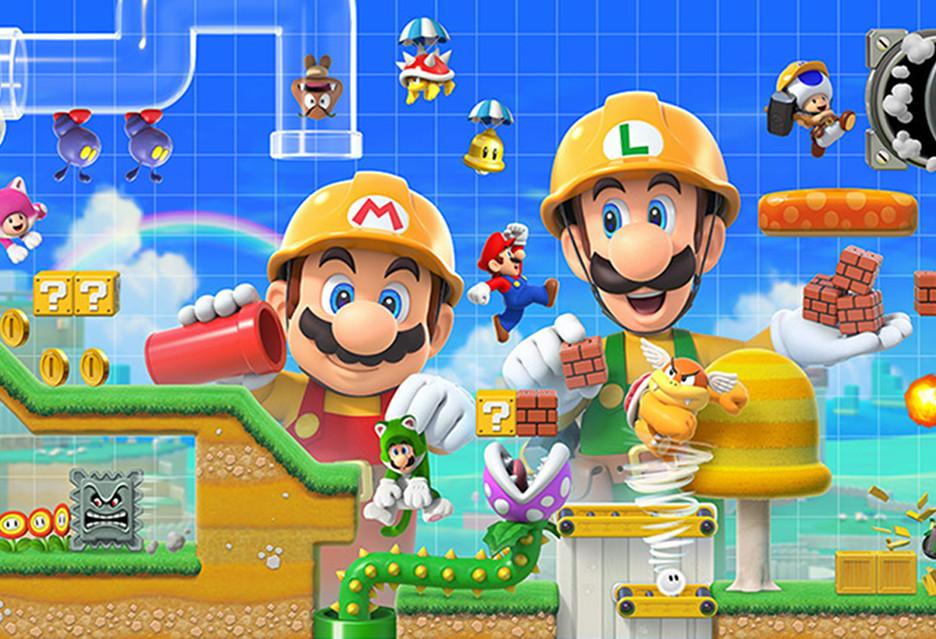 Nadciąga Super Mario Maker 2 - z co-opem i mnóstwem nowych opcji