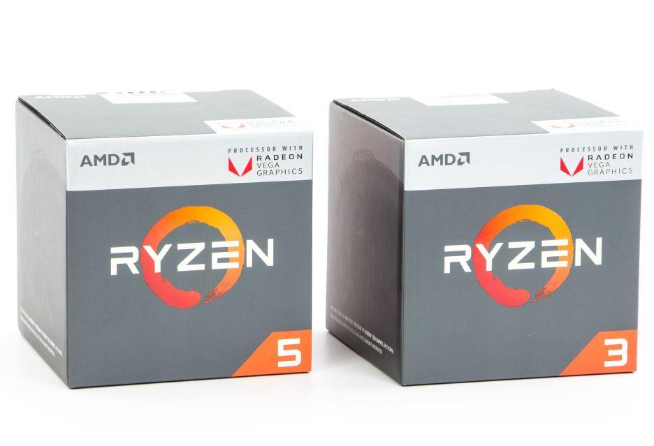 AMD Ryzen 3 3200G i Ryzen 5 3400G - znamy specyfikację nowych procesorów