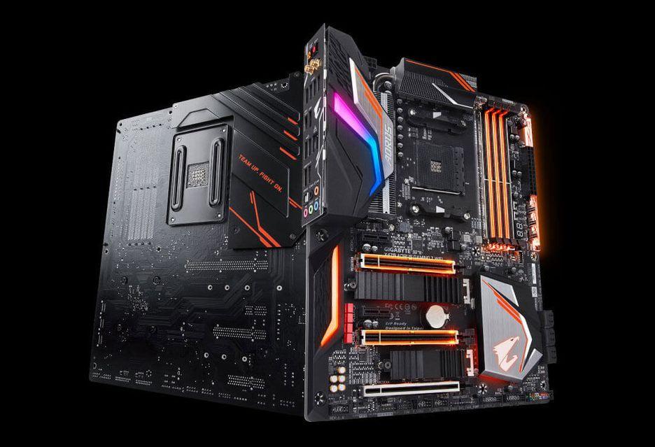 Płyty główne Gigabyte B450 i X470 gotowe na nowe procesory AMD Ryzen