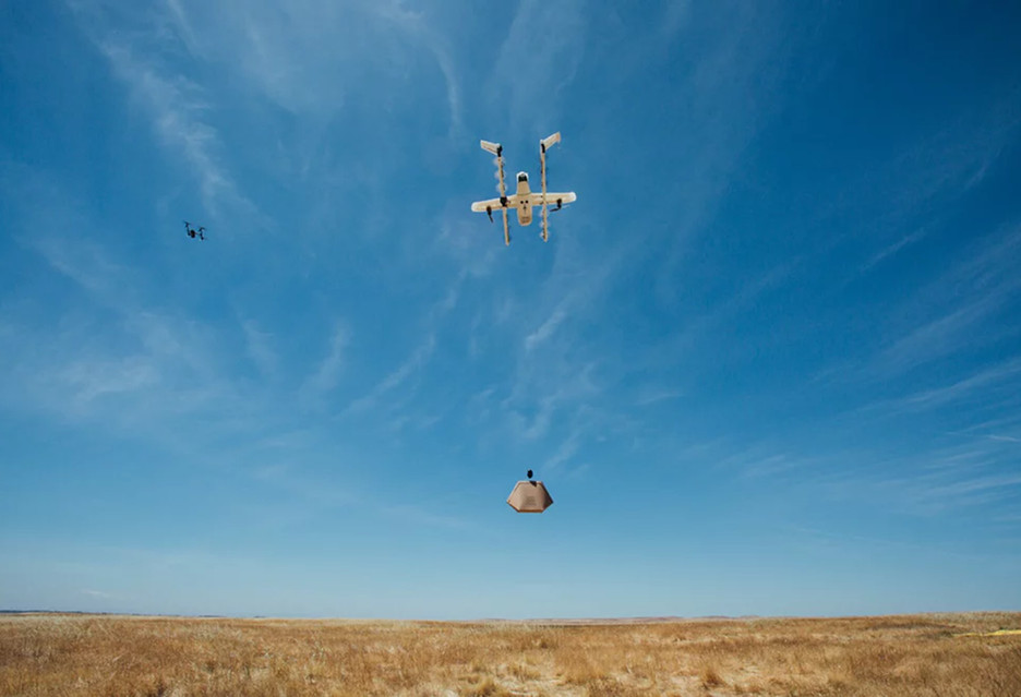 Wing - dostawcze drony zadebiutują w Helsinkach