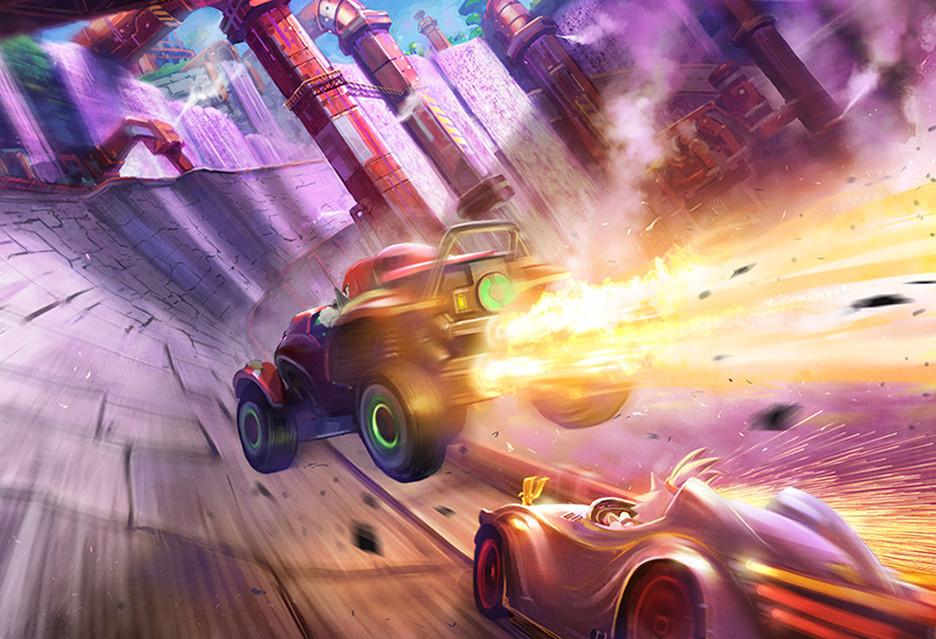 Team Sonic Racing wjeżdża na rynek