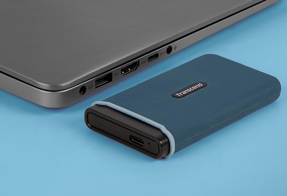 Elegancki, solidny, szybki i mobilny dysk SSD Transcend ESD350C