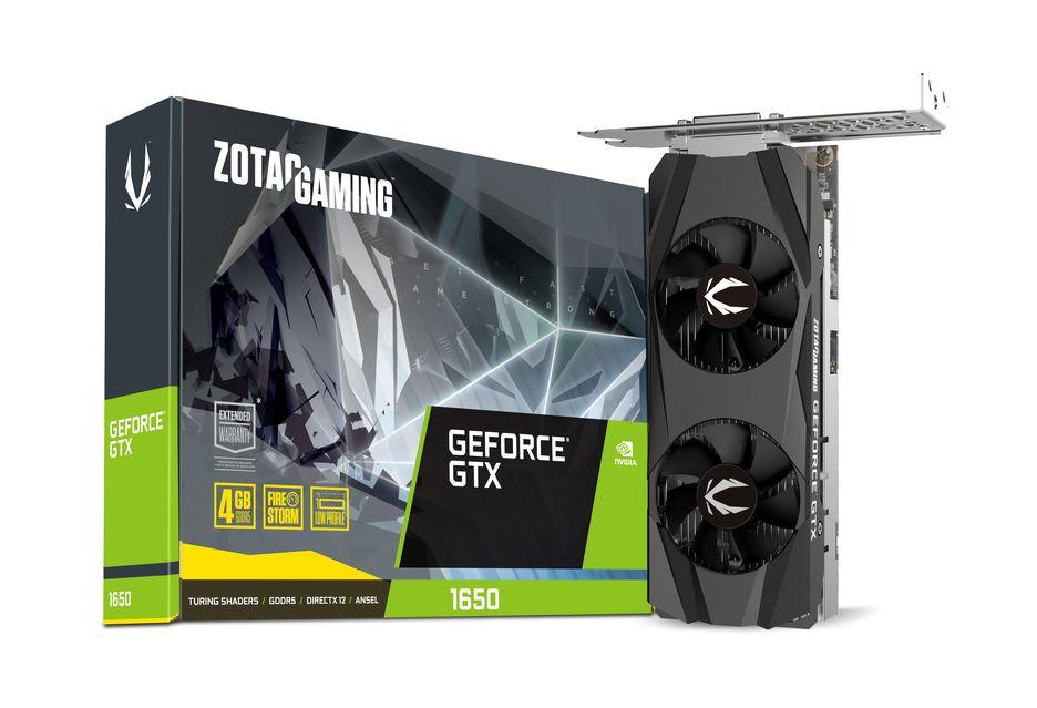Zotac przedstawia kartę GeForce GTX 1650 w niskoprofilowej wersji