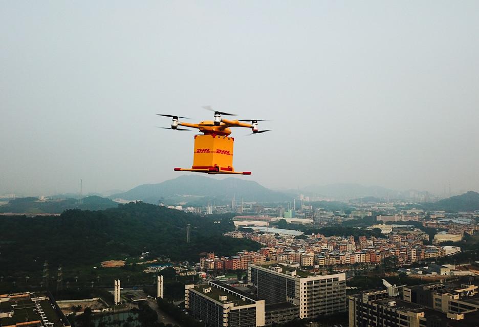 DHL Express eksperymentuje z dronami