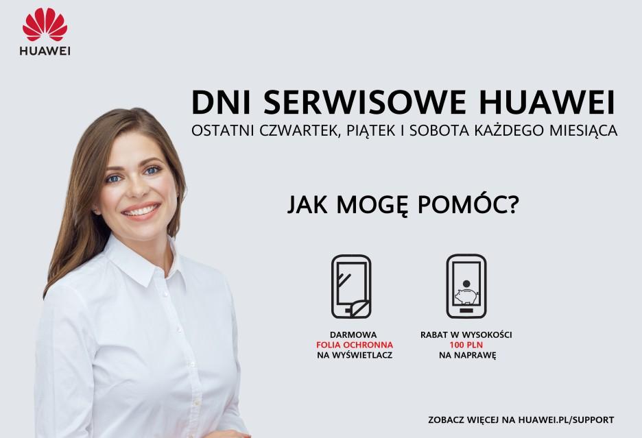 Promocje w ramach Dni Serwisowych Huawei