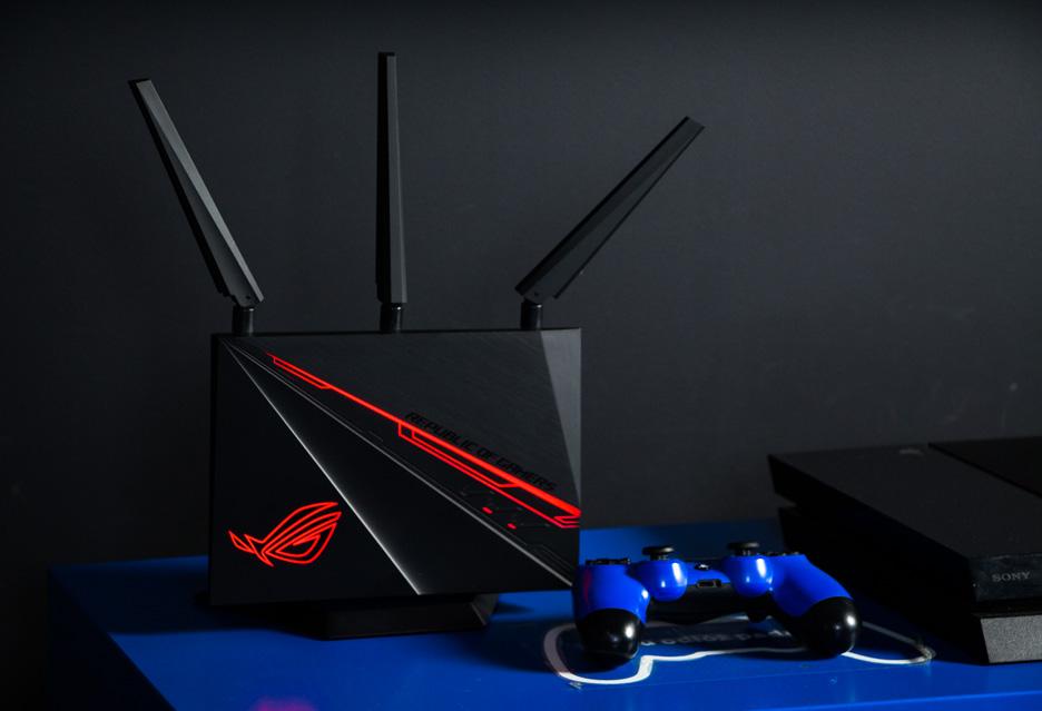 ASUS ROG Rapture GT-AC2900 - router z LEDami   zdjęcie 1