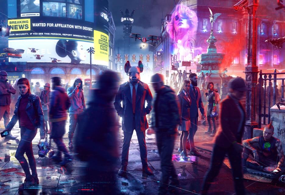 Watch Dogs Legion oficjalnie - data premiery i gameplay