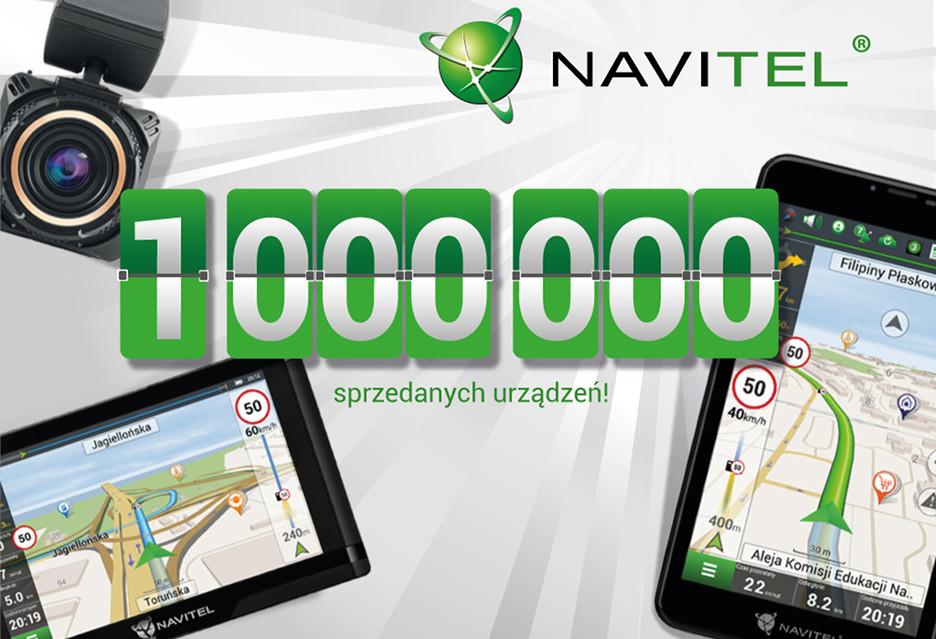 Milion urządzeń Navitel w rękach nabywców