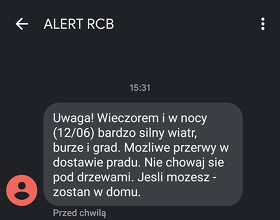 Alert RCB - co to jest?