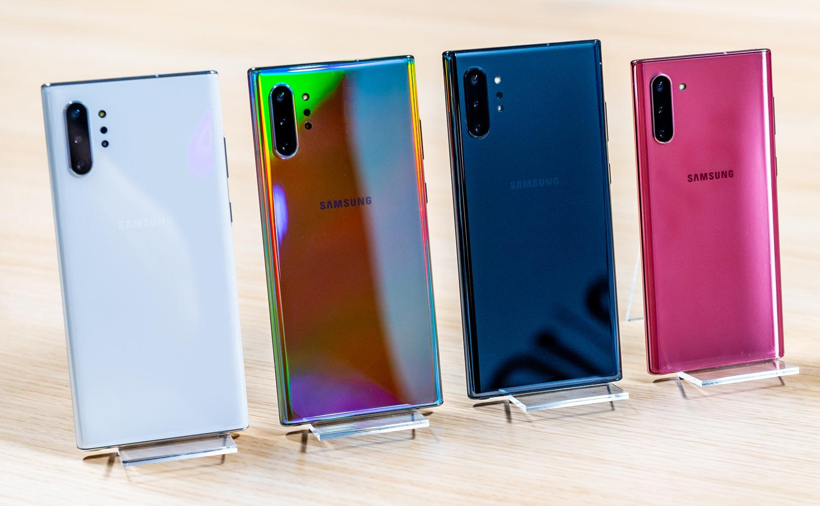 Samsung Galaxy Note 10 vs Note 9 porównanie