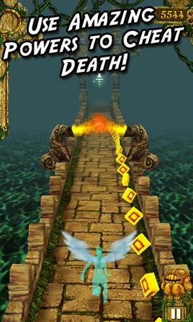 temple run gra wygląd przeszkody windows phone 8