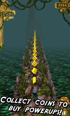 temple run ścieżka wygląd screen gra windows phone 8