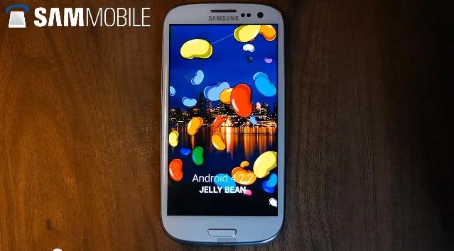 samsung galaxy s3 wygląd aktualizacja android 4.2.2 funkcje galaxy s4