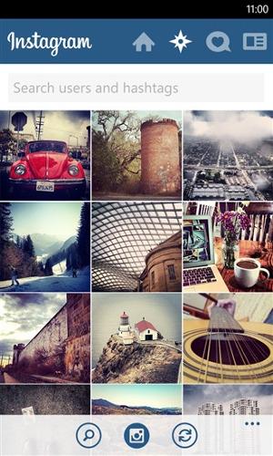 instagram wygląd aplikacja wp