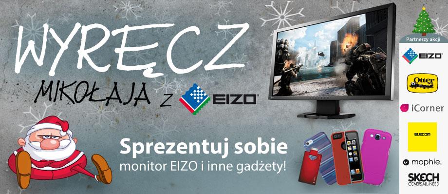 Wyręcz Mikołaja, sprezentuj sobie monitor EIZO FORIS FG2421-PL!