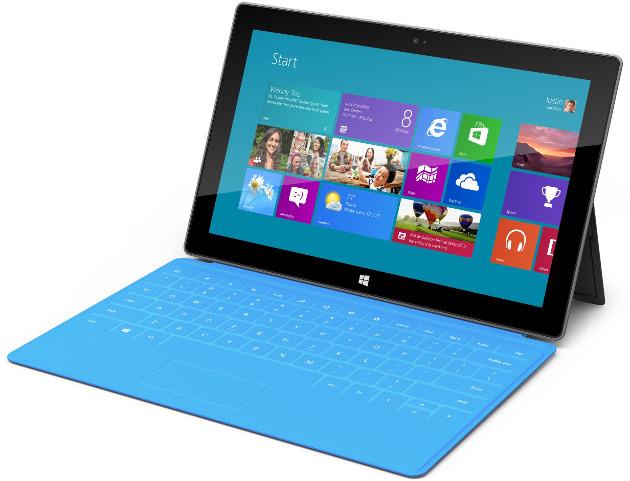 intel paul otellini ceo microsoft windows rt tablet surface