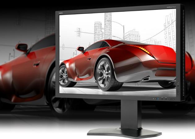 nec p242 monitor wygląd zastosowania profesjonalne