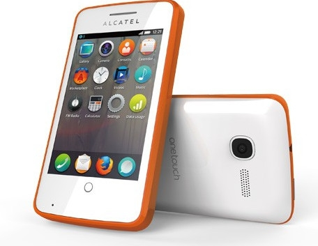 Alcatel One Touch Fire smartfon wygląd