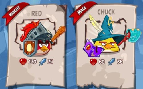 Angry Birds Epic gra postaci