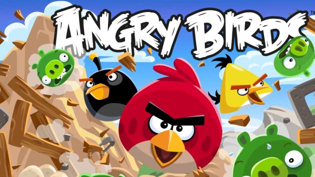 Angry Birds gra popularność