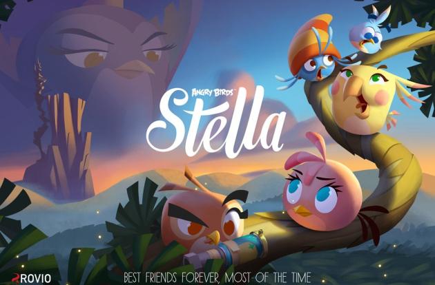 Angry Birds Stella gra zapowiedź