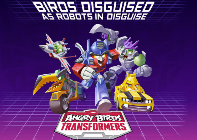 Angry Birds: Transformers gra