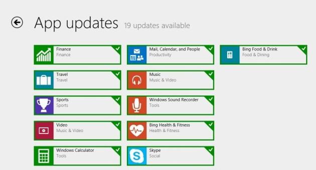 windows 8.1 aplikacje aktualizacje sklep store