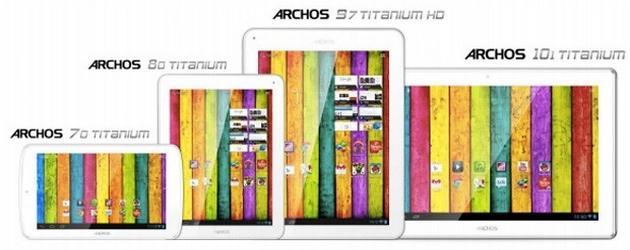 Archos Titanum tablet