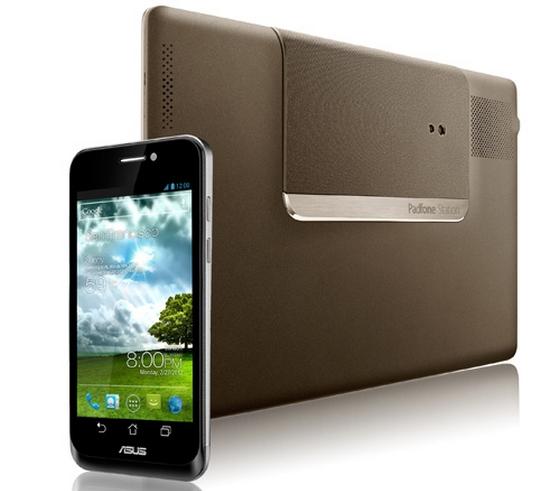 Asus PadFone smartfon stacja tył