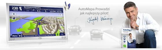 automapa aktualizacja mapy polska europa