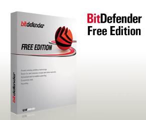 darmowy antywirus do pobrania bitdefender free edition logo opakowanie