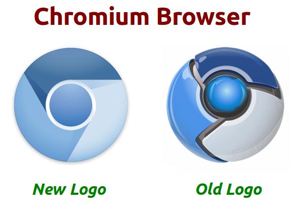 różnice pomiędzy nowym logo chroimium a starym