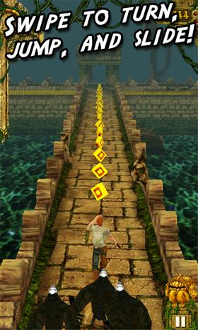 temple run gra screen ucieczka małpy windows phone 8