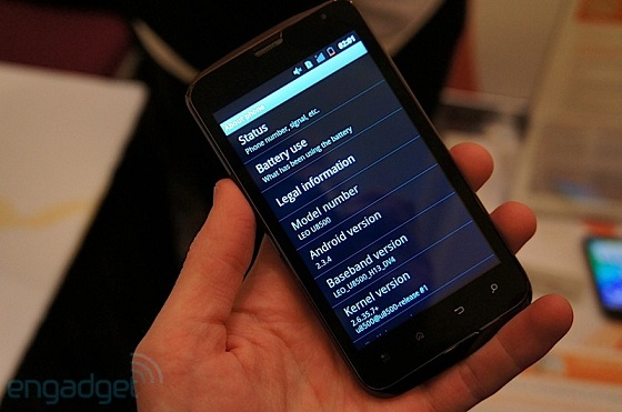 smartfon via leo - pokaz opcji