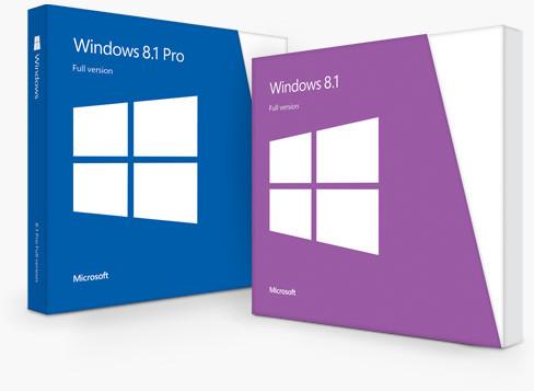 windows 8.1 pro przedsprzedaż wygląd pudełka