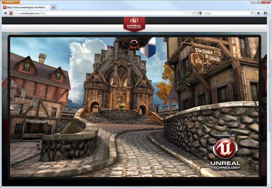 unreal engine 3 epic citadel demo technologiczne mozilla firefox