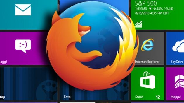 mozilla firefox przeglądarka wersja modern ui windows 8 tablet dotyk