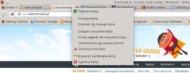 firefox 24 opcja zamknij karty po prawej stronie