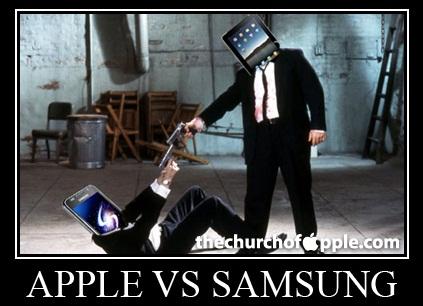 Apple vs Samsung - spór o smartfony i tablety