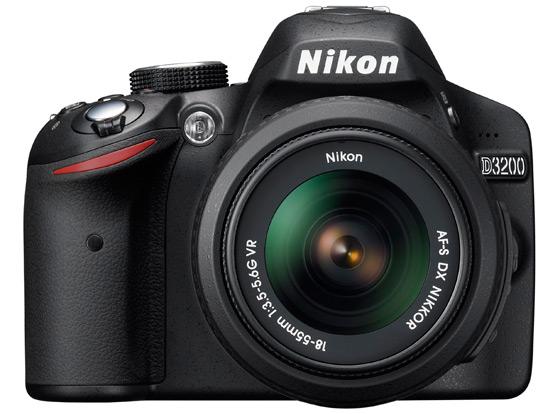 Nikon D3200 Amatorska Lustrzanka Z Sensorem Aps C 24 Mpix