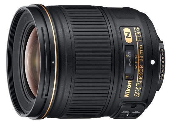Obiektyw Nikkor AF-S 28mm f/1.8G
